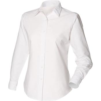 Vêtements Femme Chemises / Chemisiers Henbury Classic Oxford Blanc