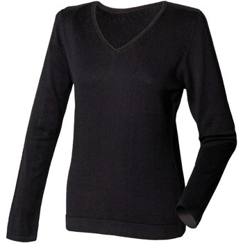 Vêtements Femme Pulls Henbury HB721 Noir