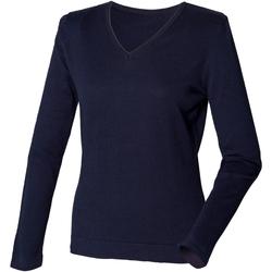 Vêtements Femme Pulls Henbury HB721 Bleu marine