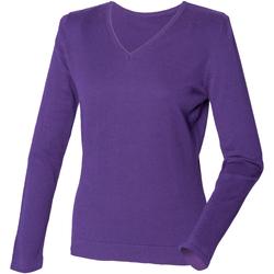 Vêtements Femme Pulls Henbury HB721 Violet