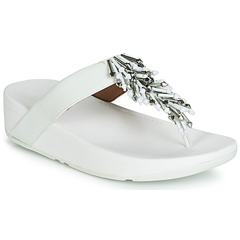 Chaussures Femme Tongs FitFlop JIVE TREASURE Blanc