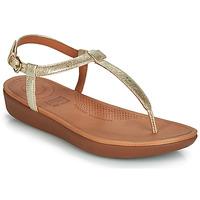 Chaussures Femme Sandales et Nu-pieds FitFlop TIA Doré