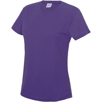 Vêtements Femme T-shirts manches courtes Just Cool JC005 Violet