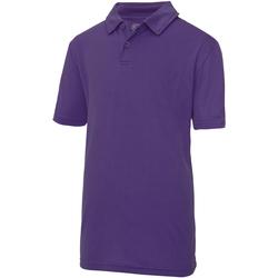 Vêtements Enfant Polos manches courtes Just Cool JC40J Pourpre