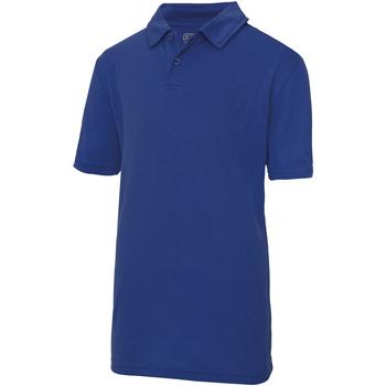 Vêtements Enfant Polos manches courtes Just Cool JC40J Bleu roi