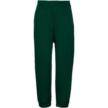Vêtements Enfant Pantalons de survêtement Maddins Coloursure Vert bouteille
