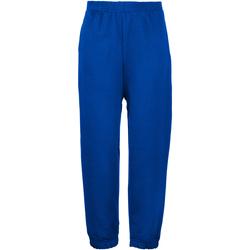 Vêtements Enfant Pantalons de survêtement Maddins Coloursure Bleu roi