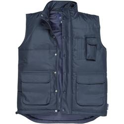 Vêtements Homme Gilets / Cardigans Portwest PW027 Bleu marine