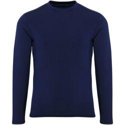 Vêtements Garçon T-shirts manches longues Tridri Performance Bleu marine