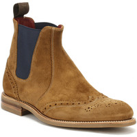 Chaussures Homme Boots Loake Mens Tan Suede Hoskins Boots Loake_106
