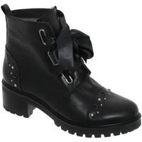 Chaussures Femme Bottines Folies Xally Noir cuir