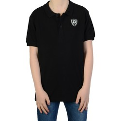 Vêtements Garçon T-shirts & Polos Redskins Polo Redskins Enfant Cube Pique Noir 1