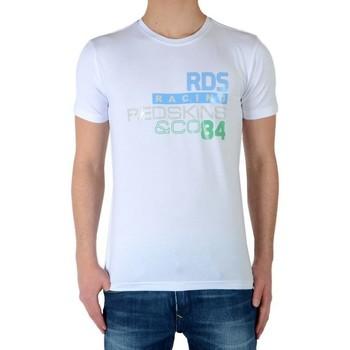 Vêtements Garçon T-shirts manches courtes Redskins Tee Shirt Lauter Blanc