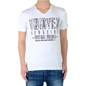 Vêtements Garçon T-shirts manches courtes Redskins Tee Shirt Olfi Blanc