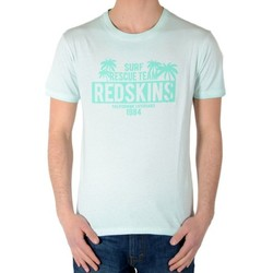 Vêtements Garçon T-shirts manches courtes Redskins Tee Shirt Stanford Jersey Bleu Water