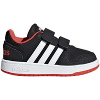 Chaussures Enfant Baskets basses adidas Originals Hoops 20 Inf Noir