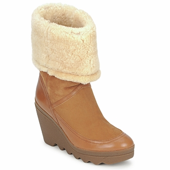 Bottines / Low boots Ash VARUSHKA Camel 350x350