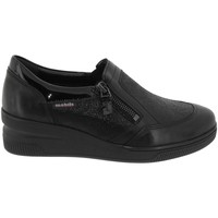 Chaussures Femme Slip ons Mobils By Mephisto Nissia Noir cuir