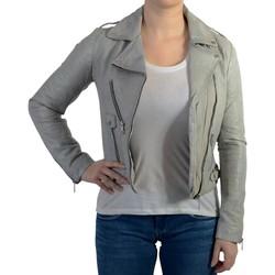 Vêtements Femme Vestes en cuir / synthétiques Redskins Veste Jazz Rocho Gris