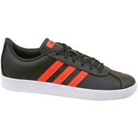 Chaussures Enfant Baskets basses adidas Originals VL Court 20 K Noir, Orange