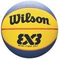 Nike Mini Ballon Wilson 3x3 Taille 3 jaune