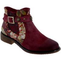 Chaussures Femme Bottines Laura Vita Coralie 04 Bordeaux daim