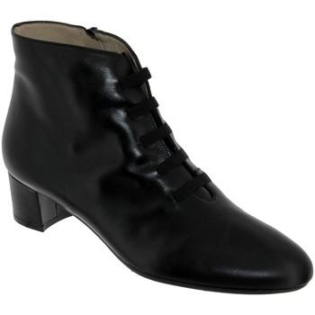 Chaussures Femme Bottines Brenda Zaro F1780 Noir cuir