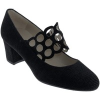 Chaussures Femme Escarpins Brenda Zaro F2962 Noir cuir