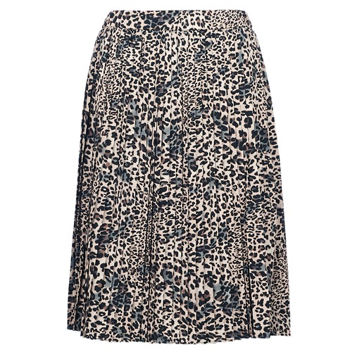 Vêtements Femme Jupes Betty London J.WILD TIME Beige / Noir