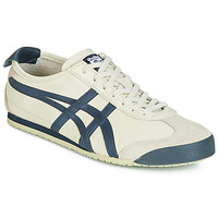 Chaussures Baskets basses Onitsuka Tiger MEXICO 66 LEATHER Beige / Bleu