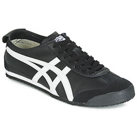 Chaussures Baskets basses Onitsuka Tiger MEXICO 66 LEATHER Noir / Blanc