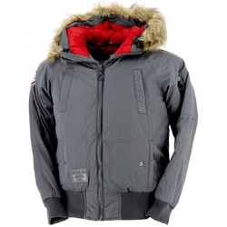 Vêtements Enfant Parkas Redskins Doudoune  Brent2 Junior (Anthracite) Gris