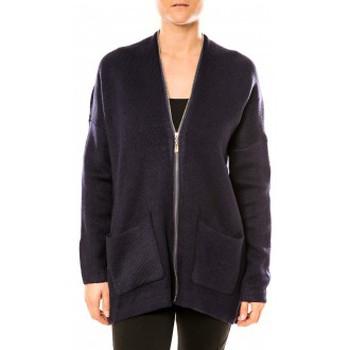 Vêtements Femme Tuniques Tcqb Gilet Lely Wood L586 Bleu Bleu