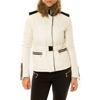 Vêtements Femme Doudounes Sweet Company Doudoune Voyelles 3B093 Blanc Blanc