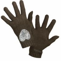 Accessoires textile Femme Gants Moschino 29849 DKGREEN