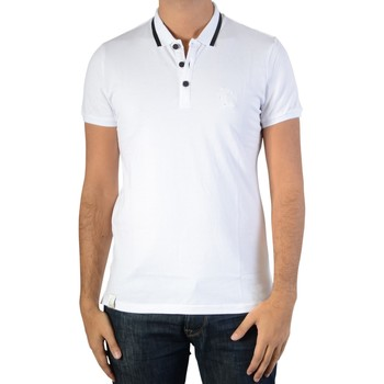 Vêtements Homme Polos manches courtes Ryujee Polo Teddy Blanc