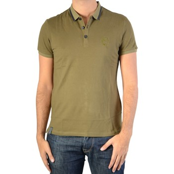 Vêtements Homme Polos manches courtes Ryujee Polo Teddy Vert