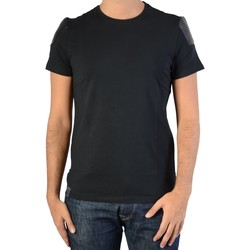 Vêtements Homme T-shirts manches courtes Ryujee Tee Shirt Thimote Noir