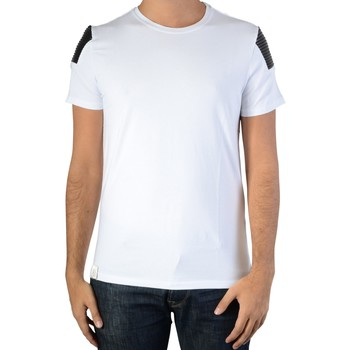 Vêtements Homme T-shirts manches courtes Ryujee Tee Shirt Thimote Blanc