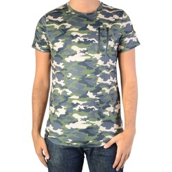 Vêtements Homme T-shirts manches courtes Ryujee Tee Shirt Tylian Camouflet Vert