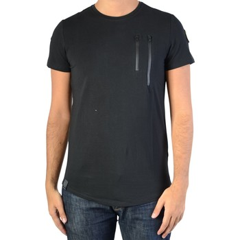 Vêtements Homme T-shirts manches courtes Ryujee Tee Shirt Tylian Noir