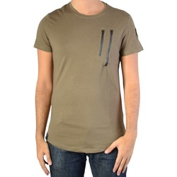 Vêtements Homme T-shirts manches courtes Ryujee Tee Shirt Tylian Vert