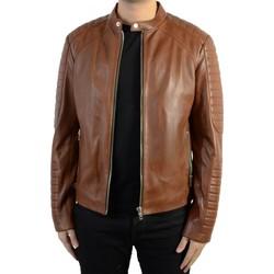 Vêtements Homme Vestes en cuir / synthétiques Serge Pariente En Cuir Leman Brown