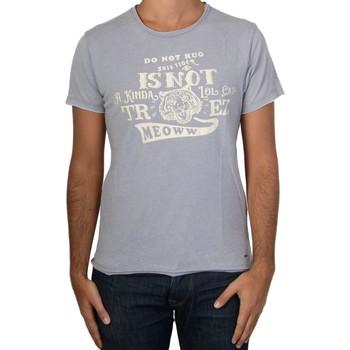 Vêtements Homme T-shirts manches courtes Trez Tee Shirt  Termini Bleu