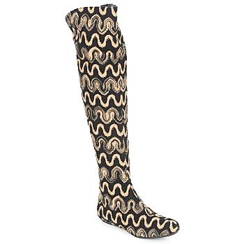 Chaussures Femme Cuissardes Missoni SM05 BEIGE