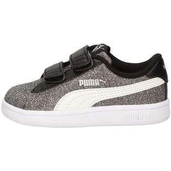 Chaussures Fille Baskets basses Puma 367380-04 Noir