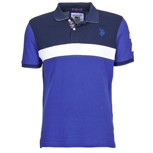 T-shirts & Polos U.S Polo Assn. REMY Marine / Blanc 350x350