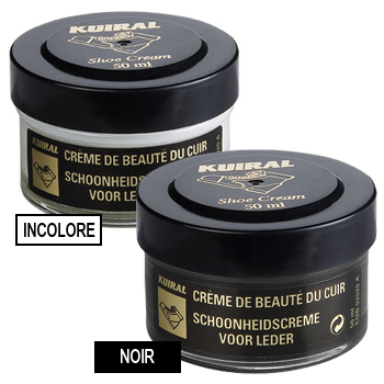 Accessoires Cirages Kuiral LOT 2 POMMADIERS 50 ML Noir / Incolore