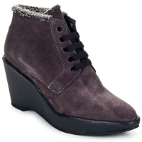 Chaussures Femme Low boots Parallèle LAHO Prune