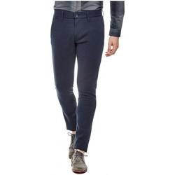 Vêtements Homme Chinos / Carrots Guess Pantalon Homme Daniel Slim Bleu (sp) 19